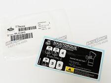 Mack Transmission 7 speed T2070 shift pattern 9RJ410M3  25167543