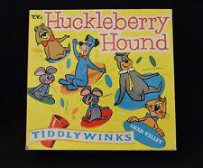 Huckleberry Hound Tiddlywinks Game Chad Valley England 1959 Rare Vintage Item