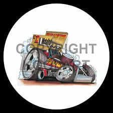 Koolart 4x4 4 x 4 Spare Wheel Graphic Stock Car Stock Car '99 Sticker 476