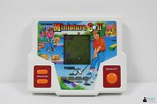 LCD Telespiel Handheld Game Spiel - Miniature Golf - Tiger - 80er - Watch