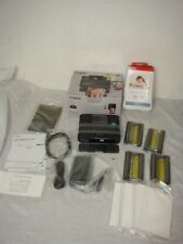 CANON SELPHY CP1200 COMPACT PHOTO PRINTER WITH KP-108N XTRA PAPER/CARTRIGES-READ