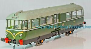 Heljan 8701, 00 Gauge Waggon &Maschinenbau Railbus BR green for spares or Repair