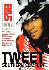 Tweet on Blues & Soul Magazine Cover 2002     MC Solaar    Lisa Left Eye Lopes