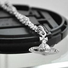 For Vivienne No small drill Saturn necklace matte VE16014691 NANA /No box