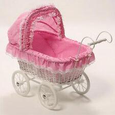 Vintage Pink Dolls Pram