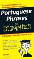 Portuguese Phrases for Dummies, Paperback by Keller, Karen, Brand New, Free s...