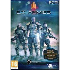 JEU PC TIR E.T. ARMIES FPS FUTUR HUMANITE WINDOWS XP/7/8/10