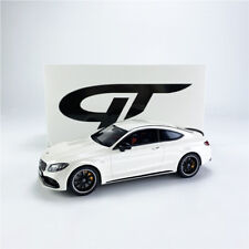 GT Spirt 1:18 AMG C63 S Coupe (W205) Diamond White Limited 504 Model Car