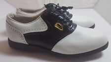 FOOTJOY Women's 8.5 M SIERRA TREKS Discontinued Golf Shoes White/Black #98725