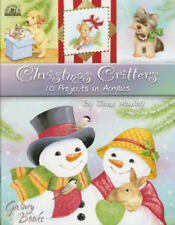 Christmas Critters Jane Maday Painting Book NEW Animals