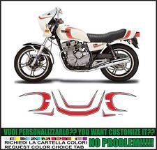 kit adesivi stickers compatibili xj 550 1981 seca
