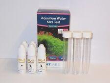 NT Labs Mini Kit de prueba 120 pruebas para acuarios tropicales Peces De Agua Dulce &