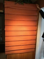 """GORGEOUS BUDGET BLIND NEW ROMAN SHADE RED CHECK,39""""x62"""" 2 AVAILABLE"""