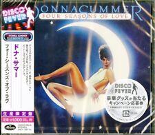 DONNA SUMMER-FOUR SEASONS OF LOVE-JAPAN CD Ltd/Ed B63