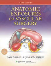 USED (LN) Anatomic Exposures in Vascular Surgery by Gary G. Wind MD