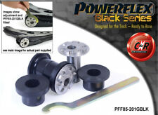 VW CC 12-17 Powerflex Black Front Wishbone Frnt Bushes 30mm Camber PFF85-201GBLK