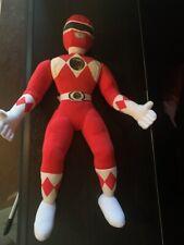 """Kid Dimension VTG 1994 Power Ranger Plush Talking RED JASON 19"""" MINT TESTED"""