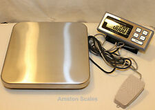 32% Off Used 25 x.005 Lb Digital Hands Free Scale Shipping Pizza Food Refurbised