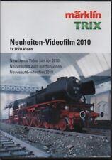 """DVD MÄRKLIN & TRIX """"Neuheiten-Videofilm 2010"""" Modellbahnanlagenbau #144776"""