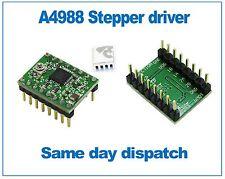 A4988 StepStick Stepper Motor Driver with self adhesive Heatsink Green PCB