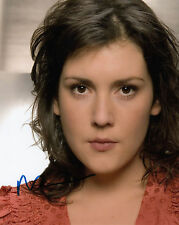 MELANIE LYNSKEY AUTHENTIC SIGNED TWO & HALF MEN 10X8 PHOTO AFTAL & UACC [14116]