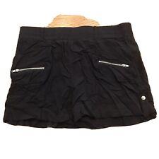 Women's Maurice Black Shorts - Size Med