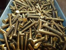0  BA   Brass Countersunk   Screws - Slotted   -     1 1/2    INCH x  10
