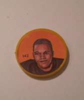 Nally's Chips (1963) - CFL Picture Discs - Willie Flemming - #142 of 150 -- Rare