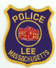 LEE POLICE MASSACHUSETTS MA COLORFUL PATCH SHERIFF