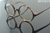 60s Vintage Round Eyeglass Frames Glasses Full Rim unisex Spectacles Eyewear Rx