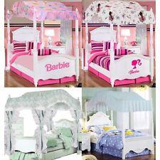 Girls Bedroom Canopy - Barbie Ballerina Pricillas Sweet Dreams Bedding Canopies