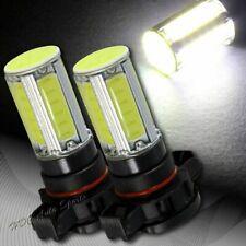 2x For Chevy H16 5202 9009 White LED 18w 12v COB Chipset Fog Light Lamp Bulbs