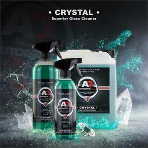 Autobrite Crystal Superior Glass Cleaner 250ml - Clear Shiny Spray Car Interior