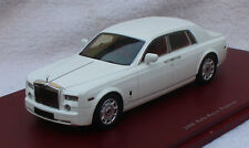 Rolls Royce Phantom weiß 2009 True Scale Miniature 1:43 Modellauto / Die-cast