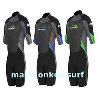 MENS OSPREY SPREY 3mm SHORTIE SHORTY WETSUIT bodyboard kayak surfboard sail