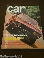 CAR MAGAZINE - NADER vs VW - OCT 1971