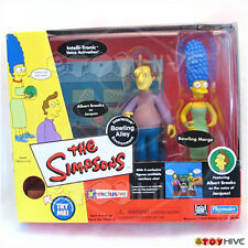 Simpsons Bowling Alley box set Jacques and Marge interactive environment