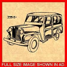 WILLYS JEEP Station Wagon PATENT - Roos 1946 #829