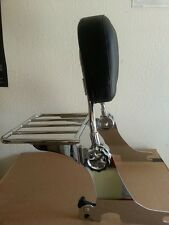 Detachable Backrest Sissy Bar for Harley Sportster 04 Up