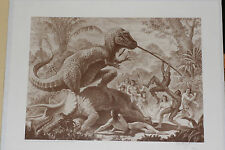 "Ray Harryhausen ""Valley of the Mists"" Signed Limited Print  1993  #485/500"