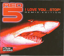 RED 5 Love you / Oh Stop 3TRX w/ RARE REMIXES Europe CD Single USA seller SEALED