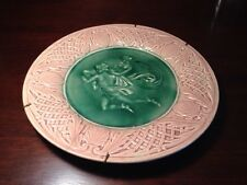 """Etruscan MAJOLICA Classical Plate Griffin Smith Hill 9"""""""