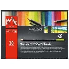 CARAN D'ACHE MUSEUM AQUARELLE PENCILS -20 Landscape Inspired Watercolour Pencils