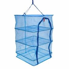 40 * 40 * 65CM 4 LAYERS VEGETABLE FISH DISHES MESH HANGING DRYING NET E6U1