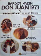 DON JUAN French Grande movie poster A 47x63 BRIGITTE BARDOT JANE BIRKIN NM