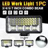 """12-24V 3/4/5/7"""" LED Work Light Spot Flood Driving Lamp Offroad SUV ATV UTV"""