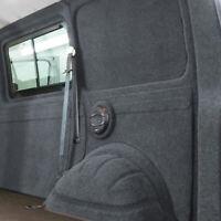 Innenverkleidung Verkleidung Filz Vlies Dunkelgrau 2x2m passend für VW T6 T5 T4