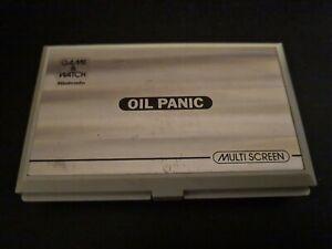 Nintendo Game & Watch Multi Screen: Oil Panic (preowned)