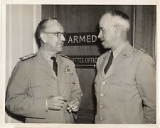 Original Press Photo General Omar Bradley & Admiral Louis Denfeld 24.8.1949