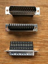 25 Pin DB25 D Sub Male Crimp Type Connector
